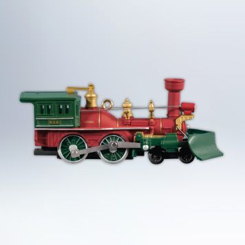 2012 Lionel Trains #17: Lionel Nutcracker Route Christmas Train Locomotive Hallmark ornament