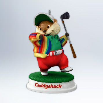 2012 Caddyshack: Gopher Golfer Hallmark ornament