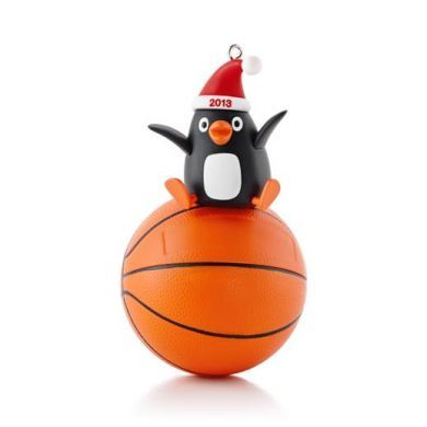 2013 Basketball Star Hallmark ornament