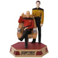 2017 Star Trek The Next Generation: Captain Jean-Luc Picard and Lieutenant Commander Data