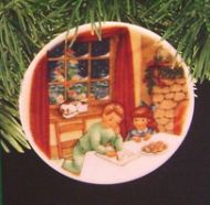 1990 Collector's Plate #4: Cookies for Santa