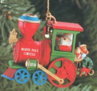 1990 Christmas Express #1: Engine