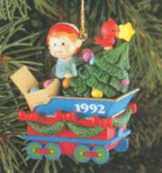 1992 Christmas Express #3: Coal Tender Car