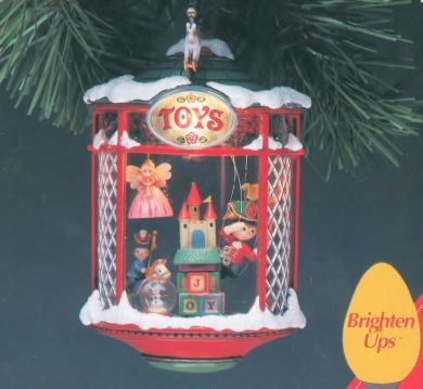 1992 Christmas Window #1: Window Wish List Enesco ornament