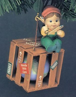 1994 Protect The Earth #2: Handle With Care Enesco ornament