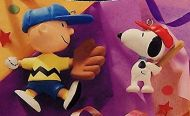 1999 Peanuts Gang: Batter Up Hallmark ornaments