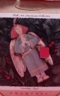1996 Folk Art Americana: Caroling Angel