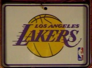 1997 NBA Collection: Los Angeles Lakers Hallmark ornament