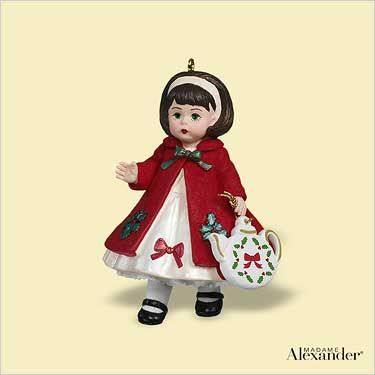 2006 Madame Alexander #11: Christmas Tea Hallmark ornament