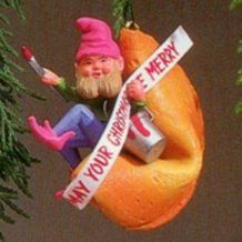 1984 Fortune Cookie Elf