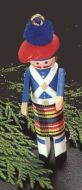 1985 Clothespin Soldier #4: Scottish Highlander