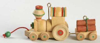 1985 Wood Childhood #2: Train Hallmark ornament