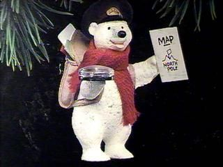 1992 Polar Post Hallmark ornament
