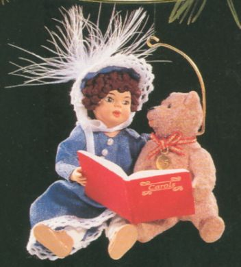 1995 Beverly and Teddy Hallmark ornament