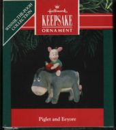 1991 Winnie the Pooh Collection: Piglet and Eeyore