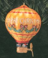1993 Holiday Fliers: Tin Hot Air Balloon