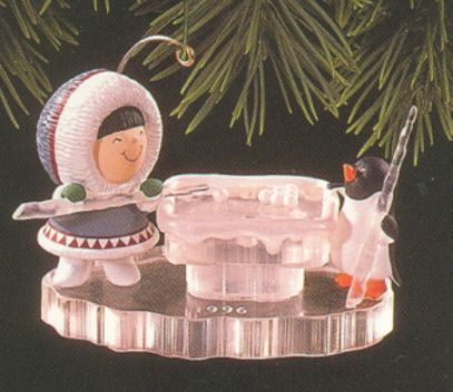 1996 Frosty Friends #17 Hallmark ornament