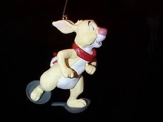 1993 Winnie-The-Pooh Collection: Rabbit on Snowshoes Hallmark ornament
