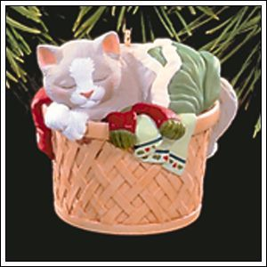 1998 Cat Naps #5 Hallmark ornament