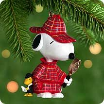2000 Spotlight on Snoopy #3: The Detective Hallmark ornament
