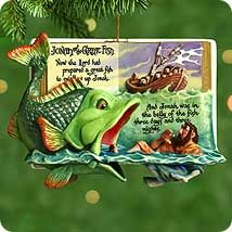 2000 Favorite Bible Stories #2: Jonah and the Great Fish Hallmark ornament