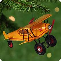 2001 Kiddie Car Classics #8: 1930 Custom Biplane Hallmark ornament