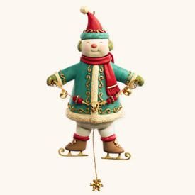 2008 Yuletide Treasures #3: Snowman Hallmark ornament