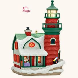 2008 Lighthouse Greetings #12 Hallmark ornament