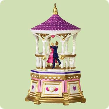2004 Treasures and Dreams #3: Jewelry Box Gazebo Hallmark ornament