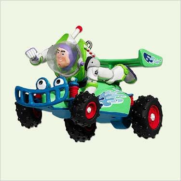 2005 Disney/Pixar's Toy Story: Buzz Lightyear and RC Racer Hallmark ornament