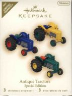 2007 Antique Tractors Special Edition (Set of 3 miniature ornaments)