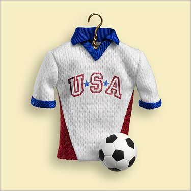 2006 Get Your Kicks (soccer ornament) Hallmark ornament