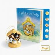 2010 A Gift for Baby Interactive Ornament and Book Set