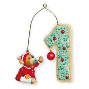 2010 Child's Age Collection: My First Christmas Hallmark ornament