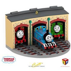 2009 Thomas the Tank Engine: Christmastime With Thomas Hallmark ornament