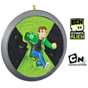 2010 Ben 10 Ultimate Alien Hallmark ornament
