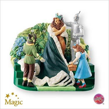 2007 Wizard of Oz: King of the Forest Hallmark ornament