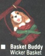 1990 Basket Buddy (miniature ornament)